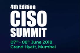 4th edition CISO summit mumbai 2018