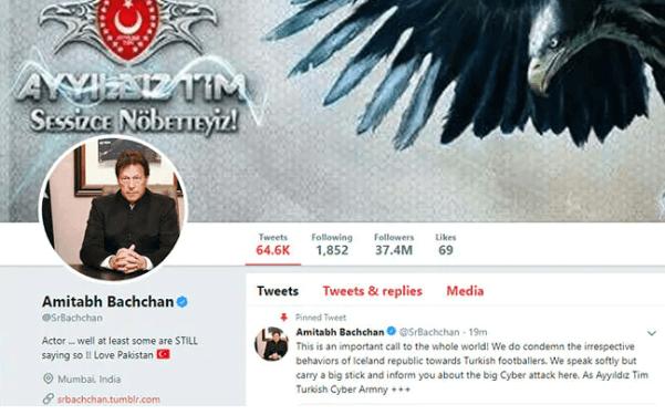 amitabh bachchan hacked