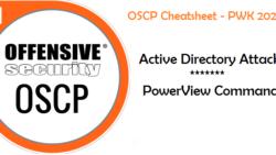 OSCP Blog Series – OSCP Cheatsheet – PowerView Commands