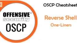 OSCP Blog Series – OSCP Cheatsheet – Reverse Shell One-Liners